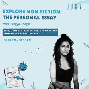 Explore Non-Fiction: Writing A Personal Essay
